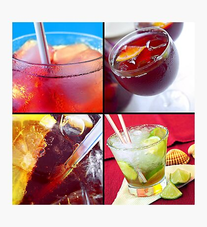 Cold Drinks Photographic Print
