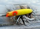 Vintage Fishing Lure - Gibbs Darter by MotherNature