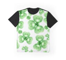 Abstract flowers pattern Graphic T-Shirt