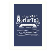 MoriarTea 2014 Edition (white) Art Print