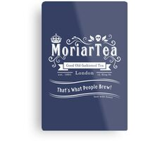 MoriarTea 2014 Edition (white) Metal Print