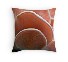 Oyster mushrooms 1 Throw Pillow