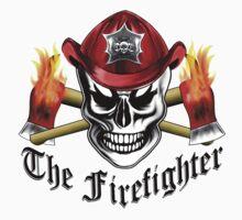 Firefighter Skull 4.1 One Piece - Short Sleeve