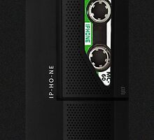 Cassette Dictaphone iPhone 6 Case by ImageMonkey