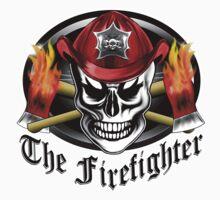 Firefighter Skull 4.2 Kids Tee