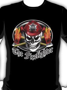Firefighter Skull 4.2 T-Shirt