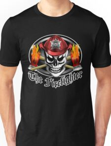 Firefighter Skull 4.2 Unisex T-Shirt