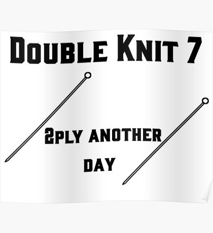 Double Knit 7 #1 Poster