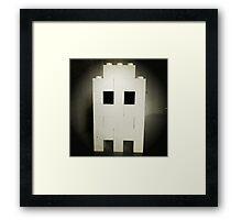 Lego Ghost Framed Print