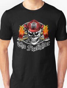 Firefighter Skull 4.3 T-Shirt