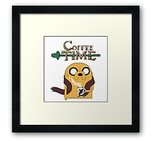 It's Coffee Time! Framed Print