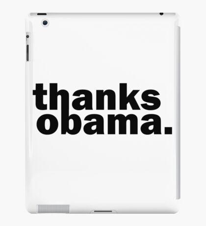 Thanks Obama Funny Cute iPad Case/Skin