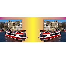 York. The River Cruise double take. Photographic Print