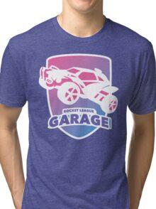 Rocket League Garage Tri-blend T-Shirt