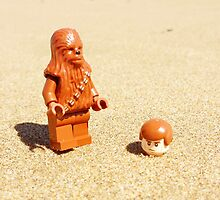 Chewy & Han Go To The Beach by FendekNaughton
