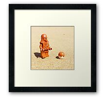 Chewy & Han Go To The Beach Framed Print
