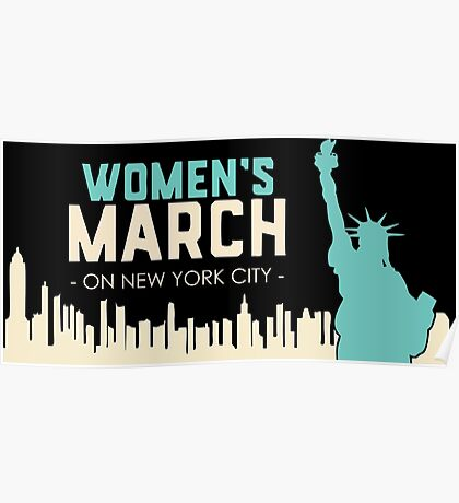 women's march on washington Poster