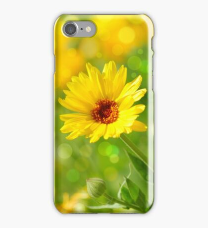 marigold flower iPhone Case/Skin