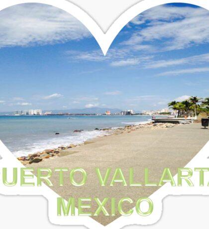 Love the Beach in Puerto Vallarta Mexico  Sticker