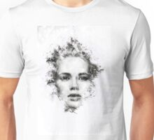 Woman Portrait Unisex T-Shirt