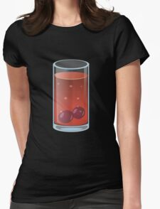 Glitch Drinks pungent sunrise Womens Fitted T-Shirt