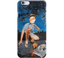 Healing record iPhone Case/Skin