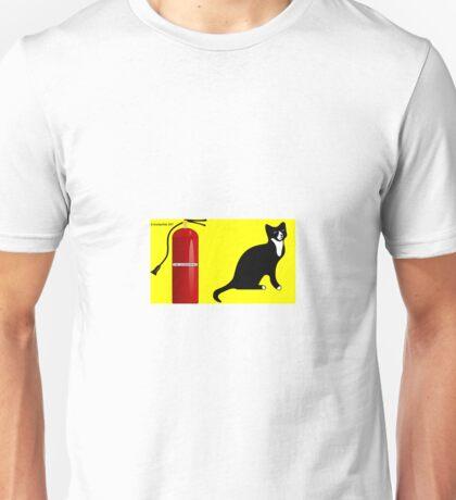 Fiery Feline Unisex T-Shirt