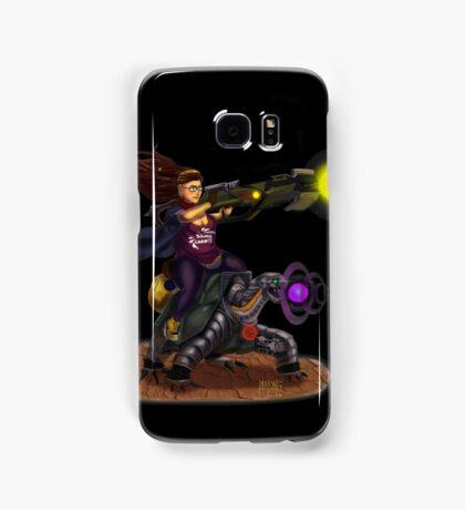 Turtle rider Samsung Galaxy Case/Skin
