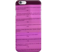 Highly opinionated Survey iPhone Case/Skin