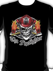 Firefighter skull 6.3 T-Shirt