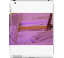 Junk election mail iPad Case/Skin