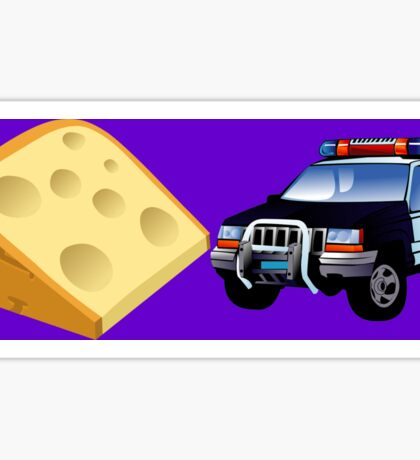 Cheese Chase Sticker