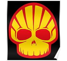 Shell Skull Poster
