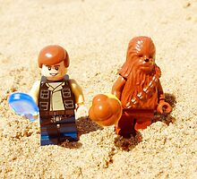 Han & Chewy At The Beach by FendekNaughton