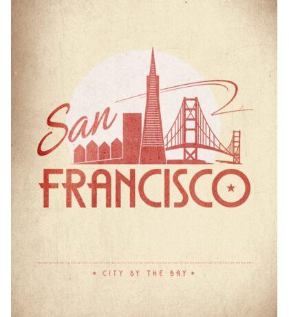 No.3 San Francisco Sticker