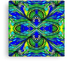 Abstract Palm Canvas Print