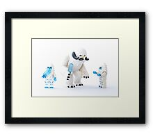 Wampa Family Framed Print