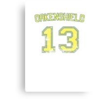 13 Oakenshield Canvas Print