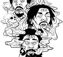Flatbush zombies T-shirt by kadal