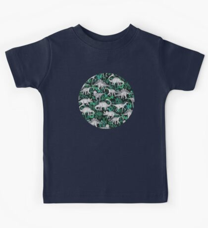 Dinosaur Jungle Kids Tee