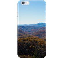 Blue Ridge Parkway Fall drive iPhone Case/Skin