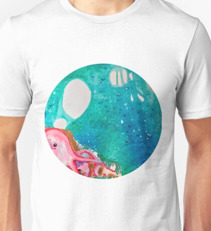 Environmental Series #5 Rare Octopus Marvels at the Ocean Unisex T-Shirt