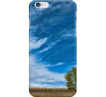 Blue Skies Sing Of Trees iPhone Case/Skin