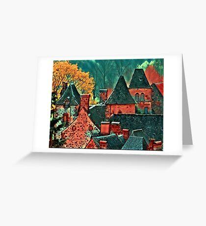 Saint Vincent amulet Greeting Card