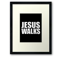 Jesus Walks - Kanye West Framed Print