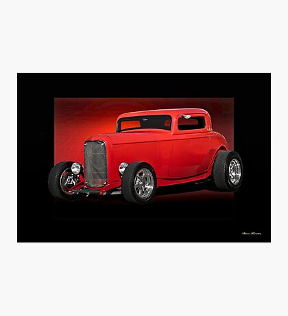 1932 Ford HiBoy Coupe Photographic Print
