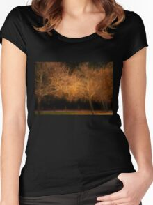 Burst of Autumn Women's Fitted Scoop T-Shirt