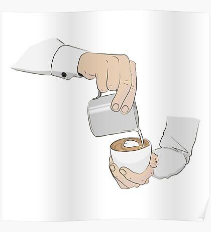 Latte-art Poster