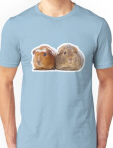 Two adorable guinea pigs Unisex T-Shirt