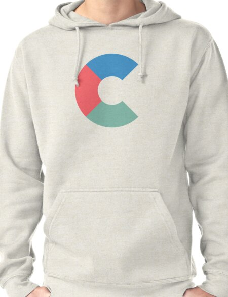 C Initial-TMHcoll Pullover Hoodie